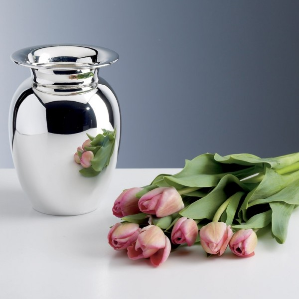 Vase Blossom, Sterling-Silber, 17cm