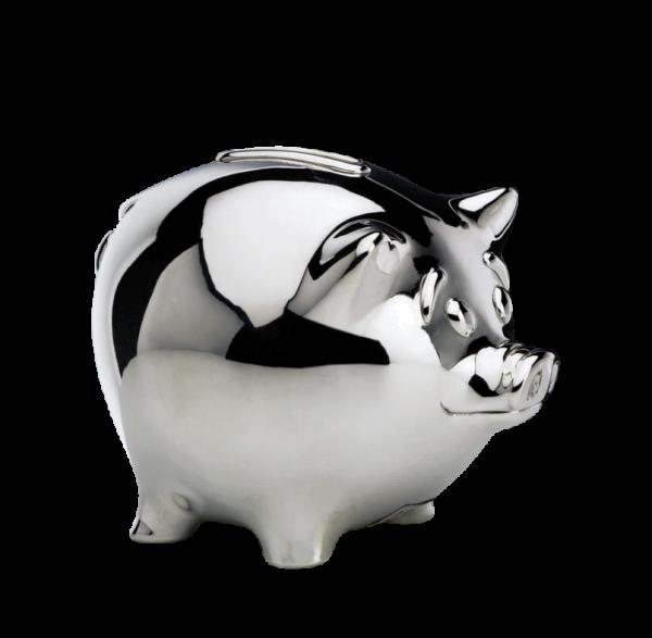 """Sparschwein """" Piggy"""" Sterling -Silber"""