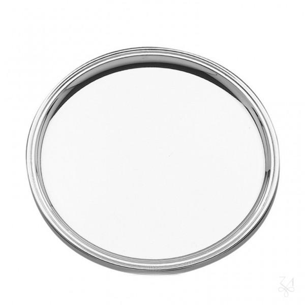 Silbertablett Fadenrand, 33 cm, 800 Silber