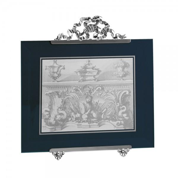 Großer Bilderrahmen Schleife, Sterling-Silber, 20 x 25 cm
