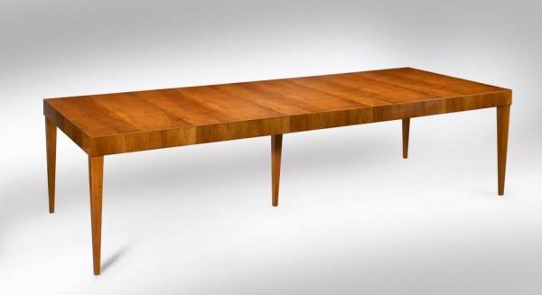 Konferenztisch Leonardo Kirschholz, 120 x 300 cm, Schellack poliert