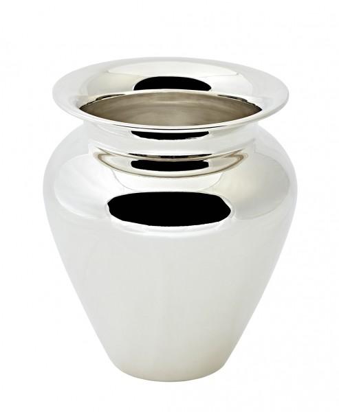 Vase Antonia, schwerversilbert, Höhe 17 cm, Durchmesser 15 cm, Öffnung Durchmesser 9 cm