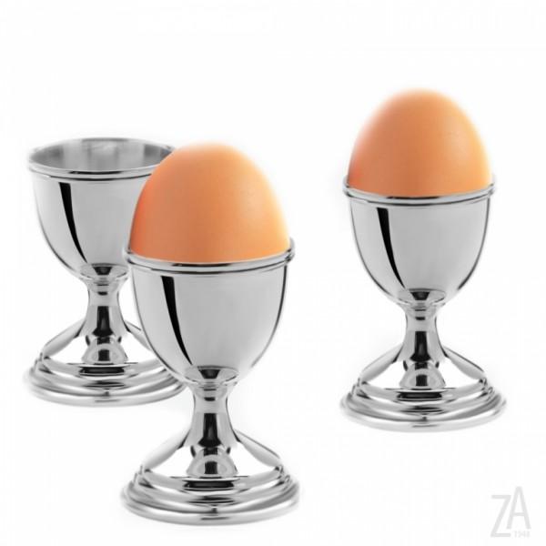 Eierbecher Sterling-Silber, Fadenmuster