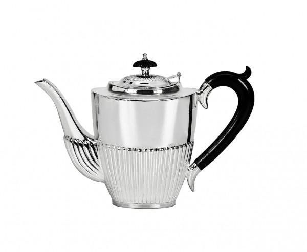 Kaffeekanne Queen Anne Sterling Silber