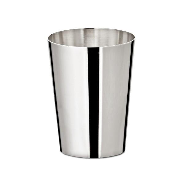 Konischer Likörbecher, Sterling-Silber, Höhe 4,5 cm, Ø 3,4 cm