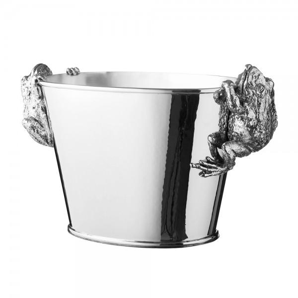 Champagnerkühler Sterling Silber, Breite 38 cm