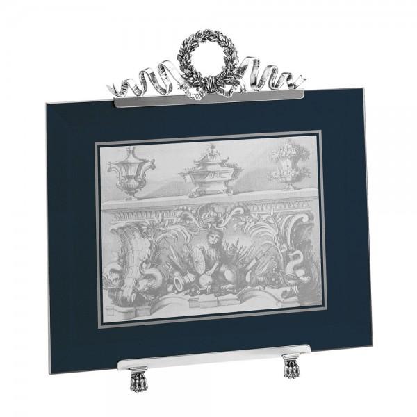 Großer Bilderrahmen Impero, Sterling-Silber, 20x 25 cm