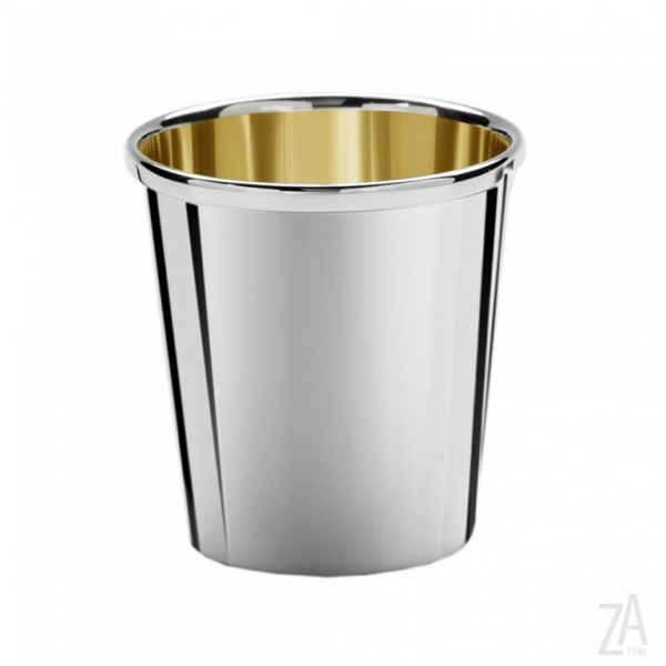 Silberbecher Sterling-Silber, innen vergoldet, Höhe 7cm