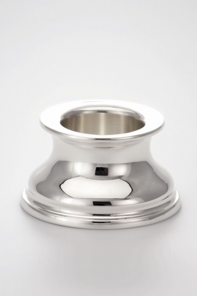 Taufleuchter Sterling-Silber, 5,5 cm hoch, Durchmesser 10 cm