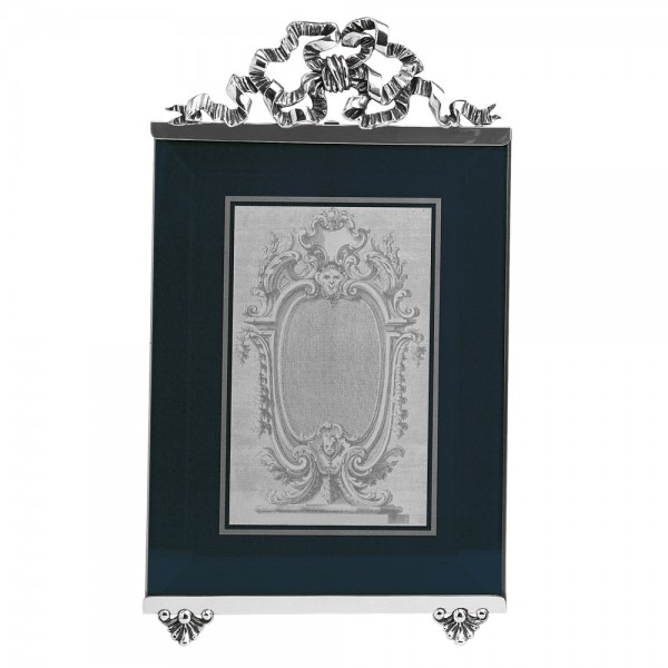 Bilderrahmen Schleife, Sterling-Silber, 9 x12 cm