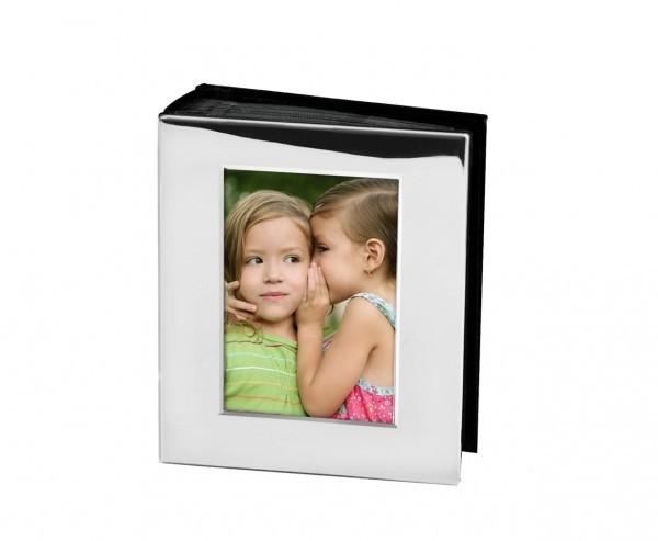 Fotoalbum Brescia versilbert, anlaufgeschützt,10 x 15 cm