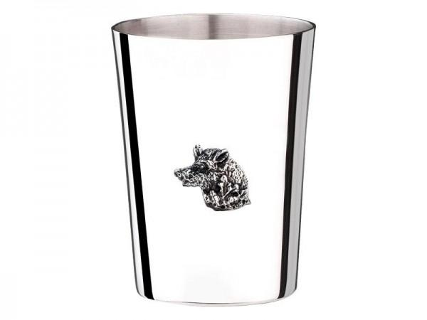 Becher Keiler, Sterling Silber, Höhe 4,5 cm